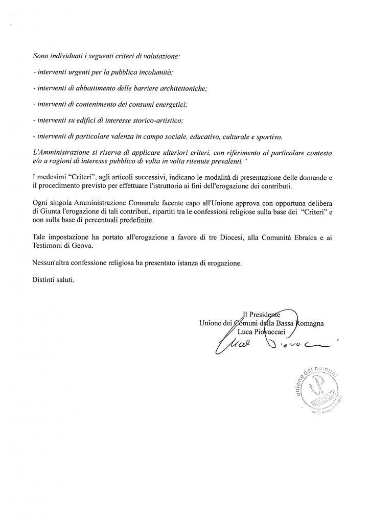OU2 Risposta Sindaco Lugo