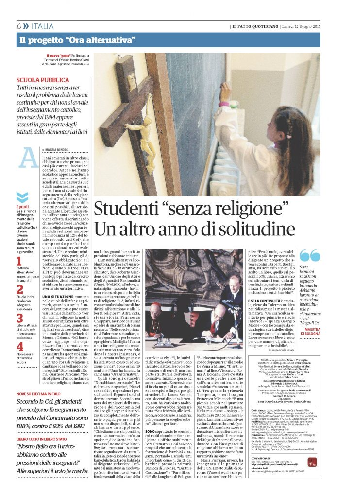 Ora Alternativa Il Fatto Quotidiano Pag. 6