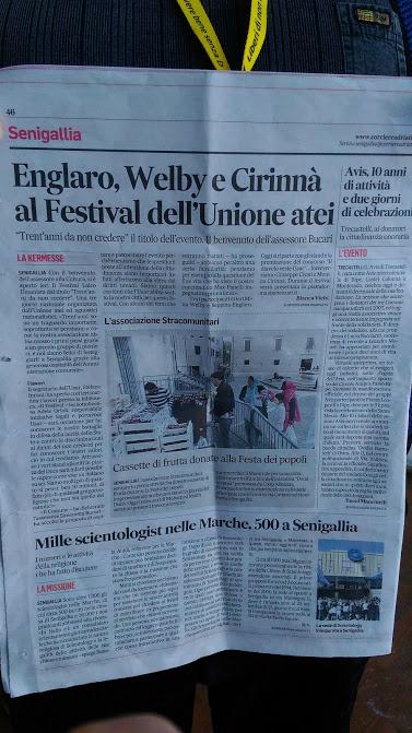 Articoli di stampa locale