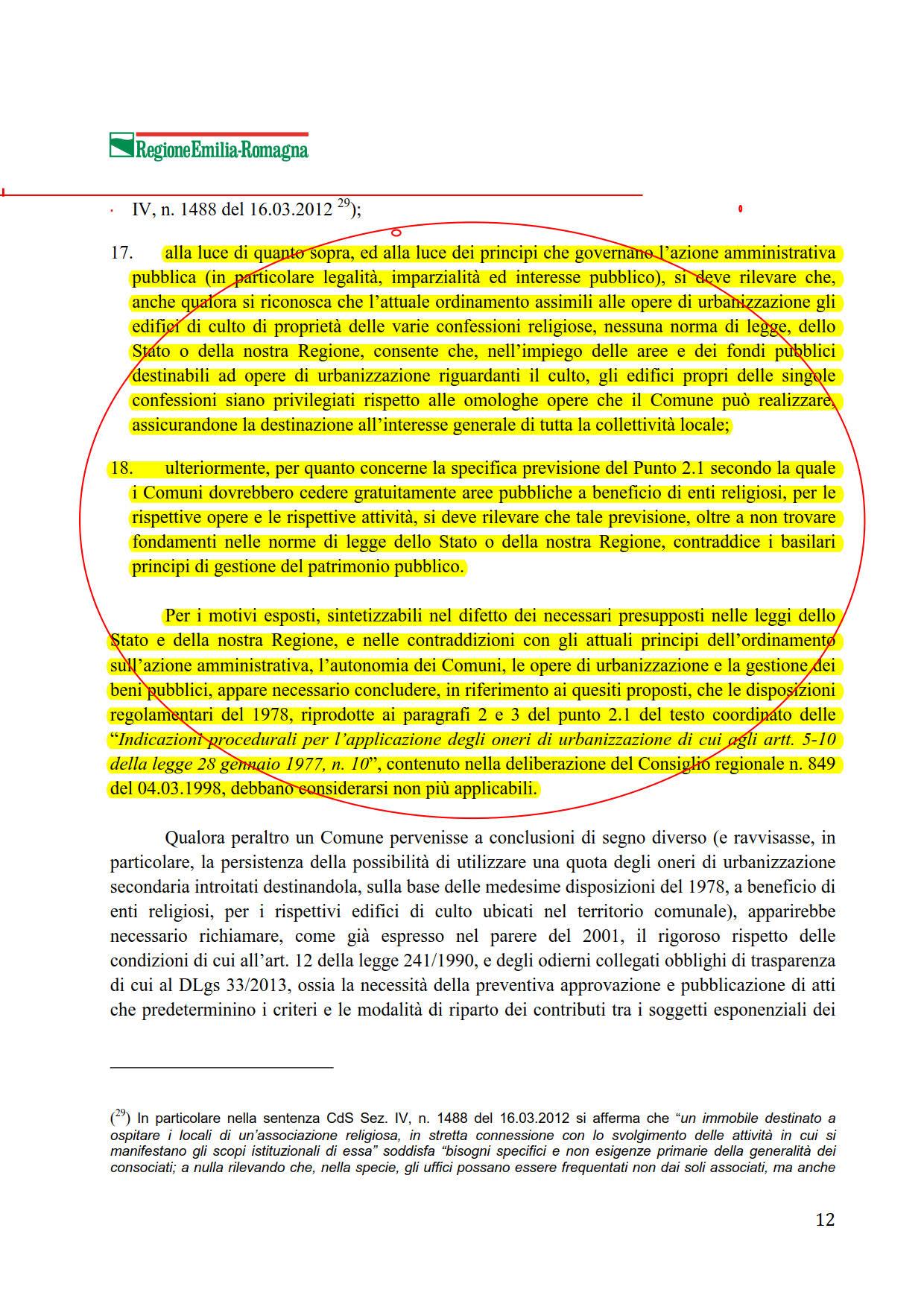 OU2 Parere Regione Emilia Romagna